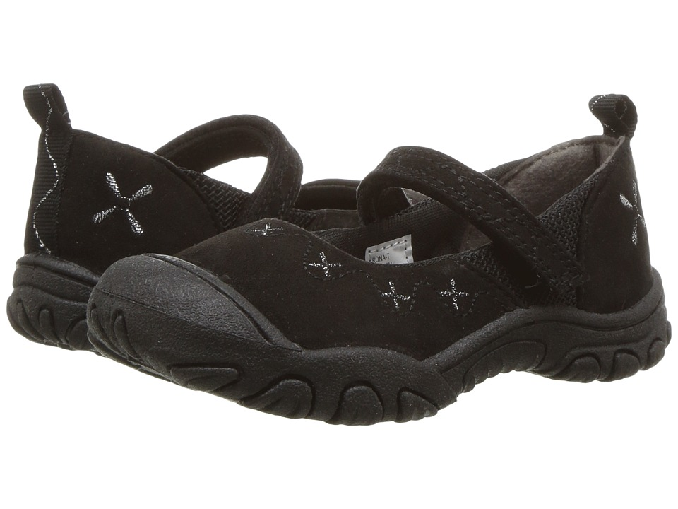 M.A.P. - Rona (Toddler) (Black) Girl's Shoes