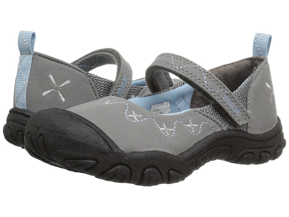 M.A.P. - Rona (Toddler) (Silver) Girl's Shoes