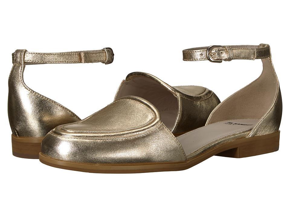 Jil Sander Navy - JN28023 (Platino Nappa Laminata) Women's Flat Shoes