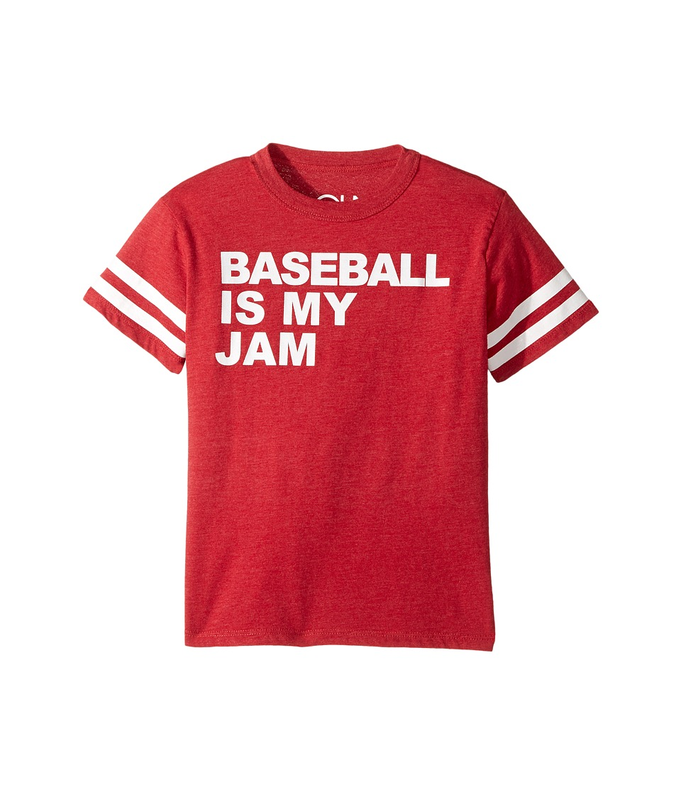 Chaser Kids - Baseball Jam Tee (Little Kids/Big Kids) (Cardinal) Boy's T Shirt
