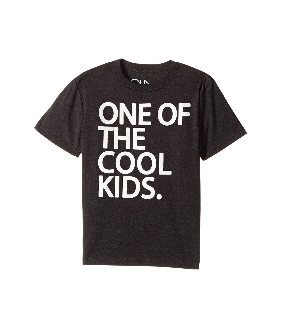 Chaser Kids - One of the Cool Kids Tee (Little Kids/Big Kids) (Vintage Black) Boy's T Shirt