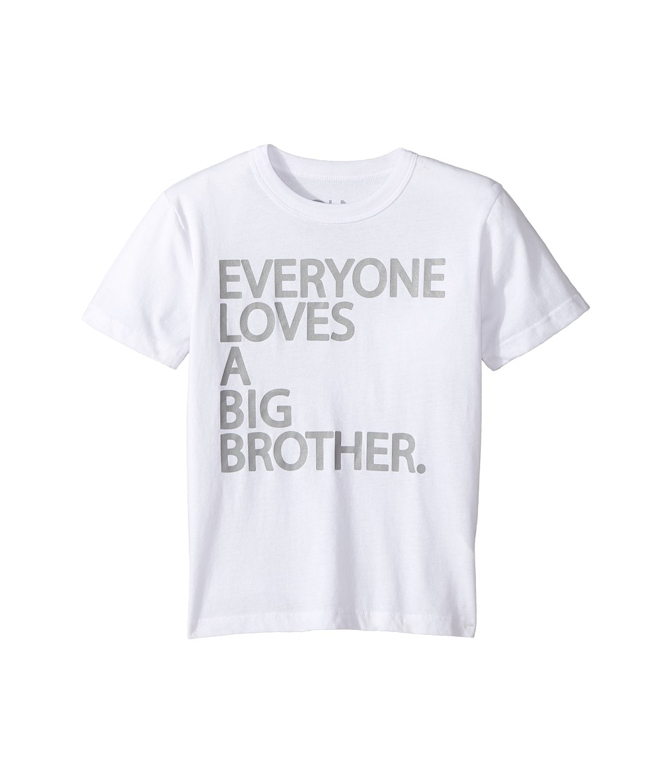 Chaser Kids - Big Brother Tee (Little Kids/Big Kids) (White) Boy's T Shirt