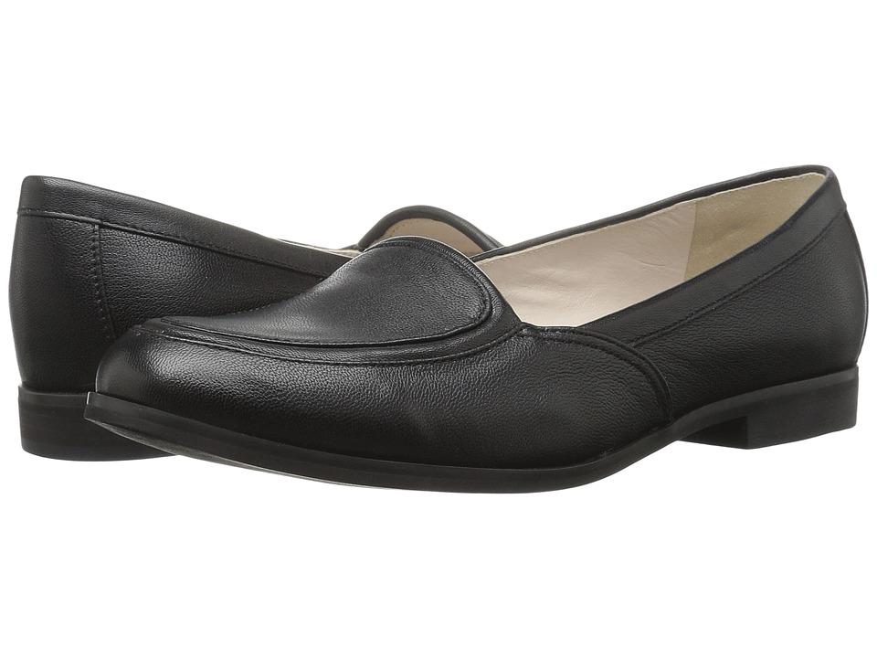 Jil Sander Navy - JN28024 (Nero Shine Goat) Women's Slip on Shoes