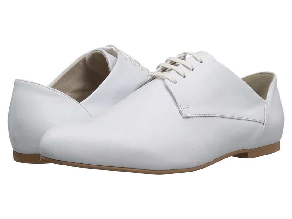 Jil Sander Navy - JN28041 (Bianco Galaxy Calf) Women's Lace up casual Shoes