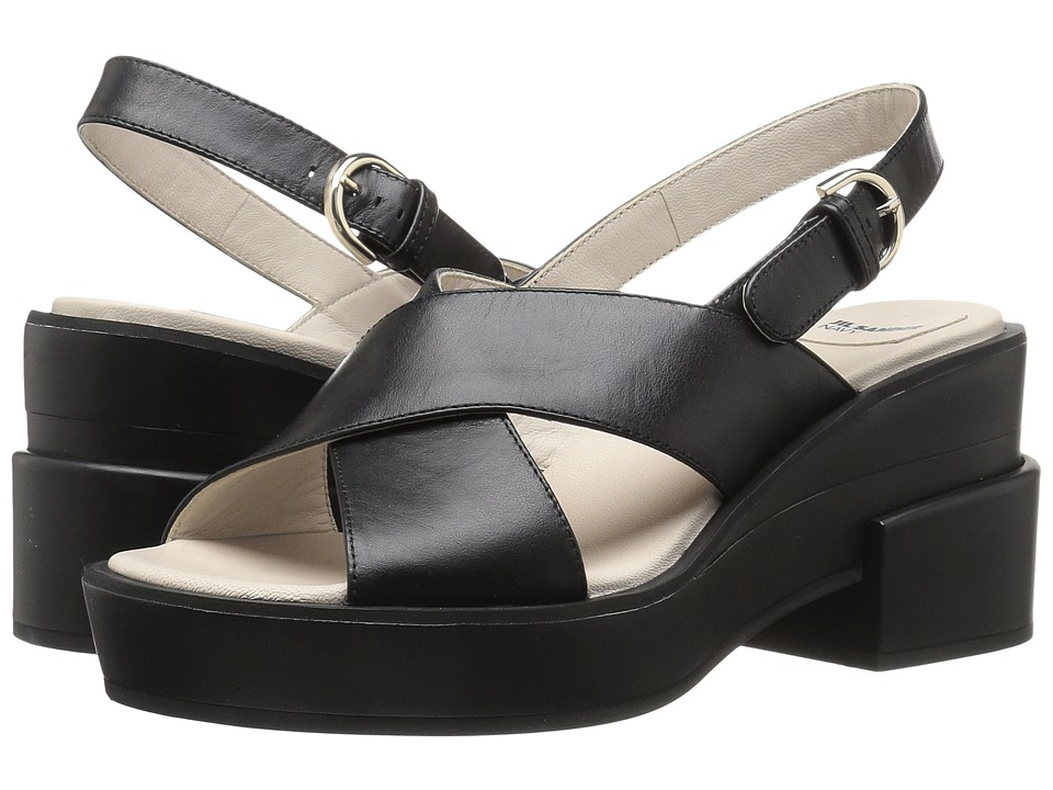 Jil Sander Navy - JN28097 (Nero Galaxy Calf) High Heels