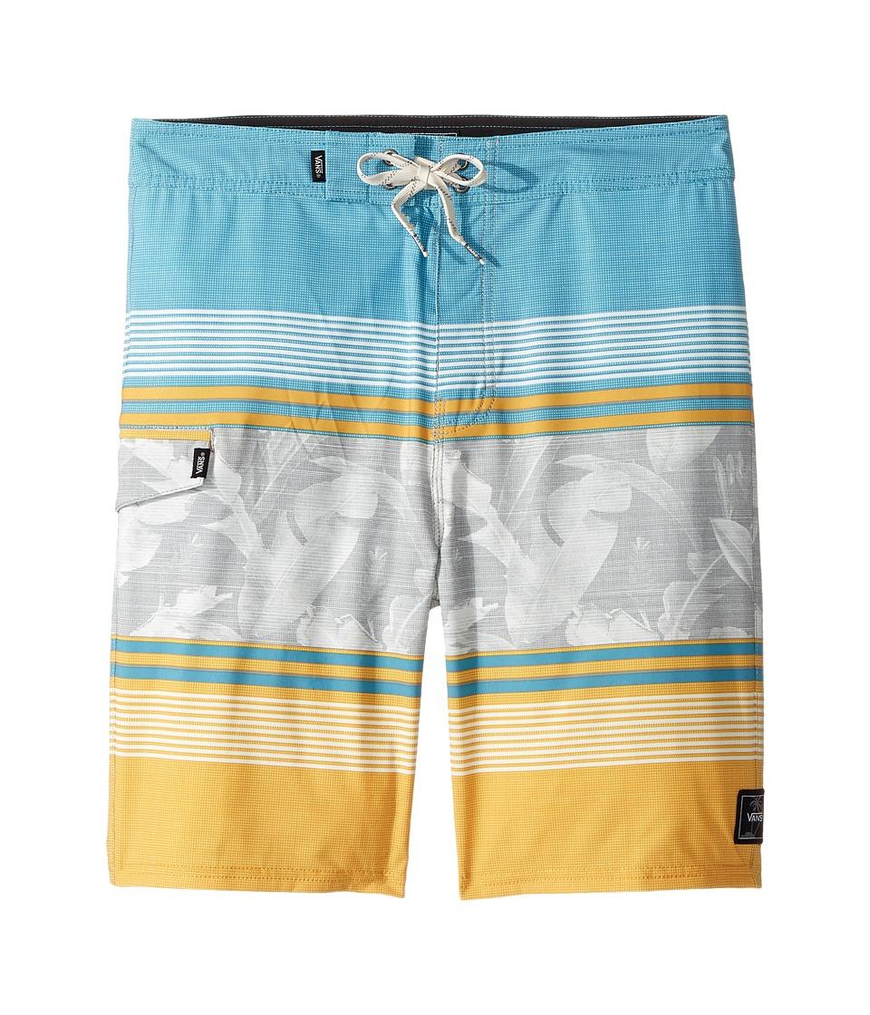 Vans Kids Bonsai Stripe Boardshorts (Little Kids/Big Kids) (Golden Glow) Boy