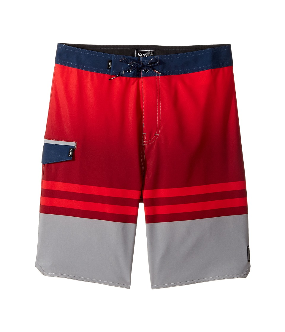 Vans Kids Tidal Boardshorts (Little Kids/Big Kids) (Frost Grey) Boy