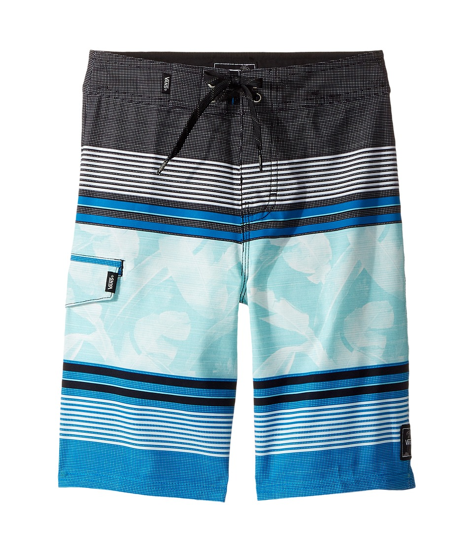 Vans Kids Bonsai Stripe Boardshorts (Little Kids/Big Kids) (Imperial Blue) Boy