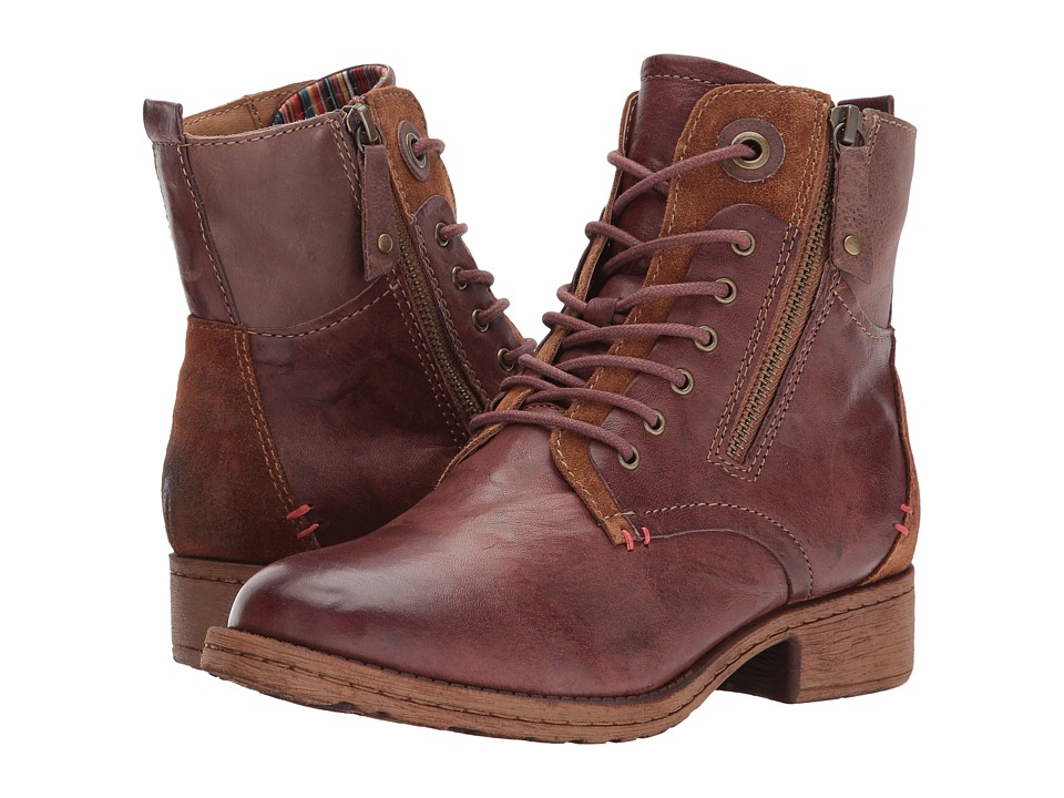 Comfortiva Sarango (Brown Leather/Suede Combo) Women