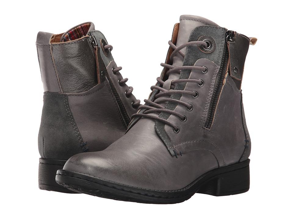 Comfortiva Sarango (Grey Leather/Suede Combo) Women