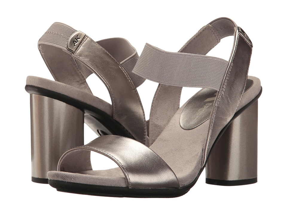 Anne Klein - Peppie (Pewter Leather) Women's Shoes