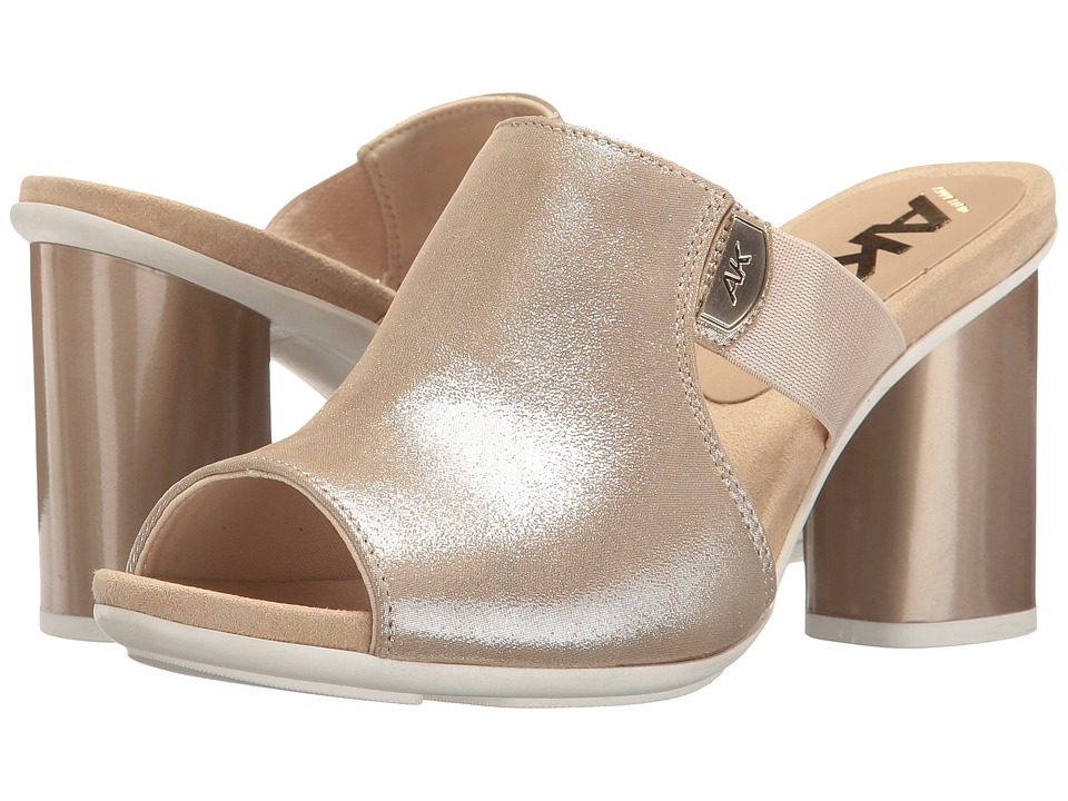 Anne Klein - Paige (Light Gold Leather) Women's Shoes