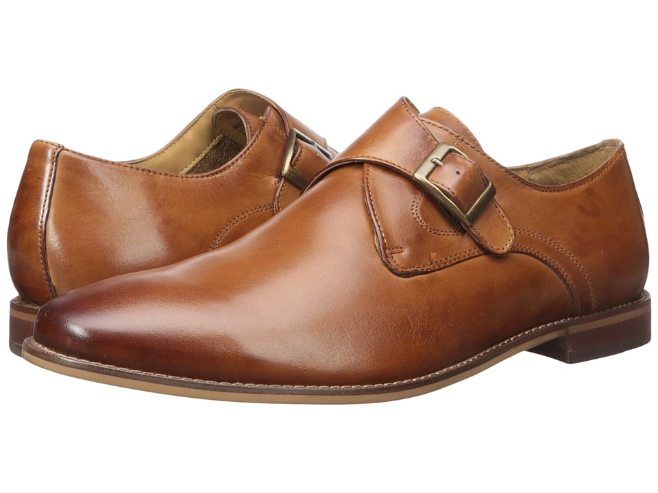 Florsheim - Montinaro Single Monk Strap (Saddle Tan Smooth) Men's Shoes