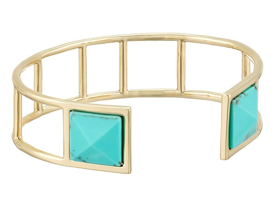 Vera Bradley - Casual Glam Cuff Bracelet (Gold Tone) Bracelet