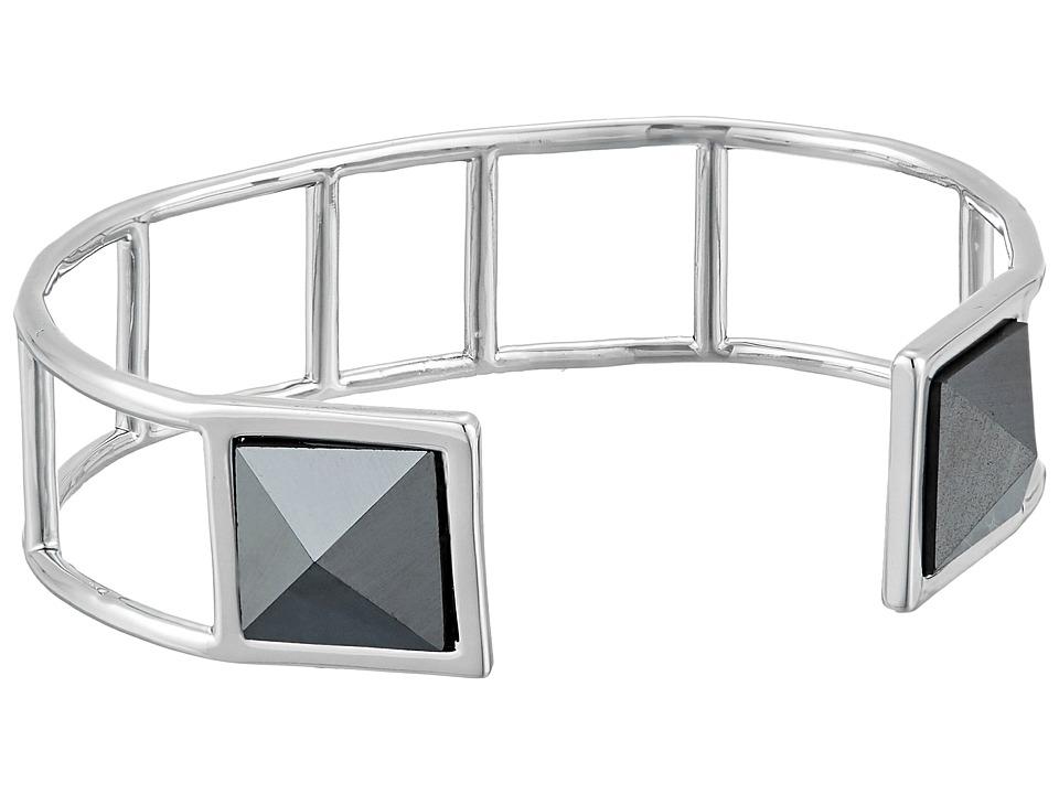 Vera Bradley - Casual Glam Cuff Bracelet (Silver Tone) Bracelet