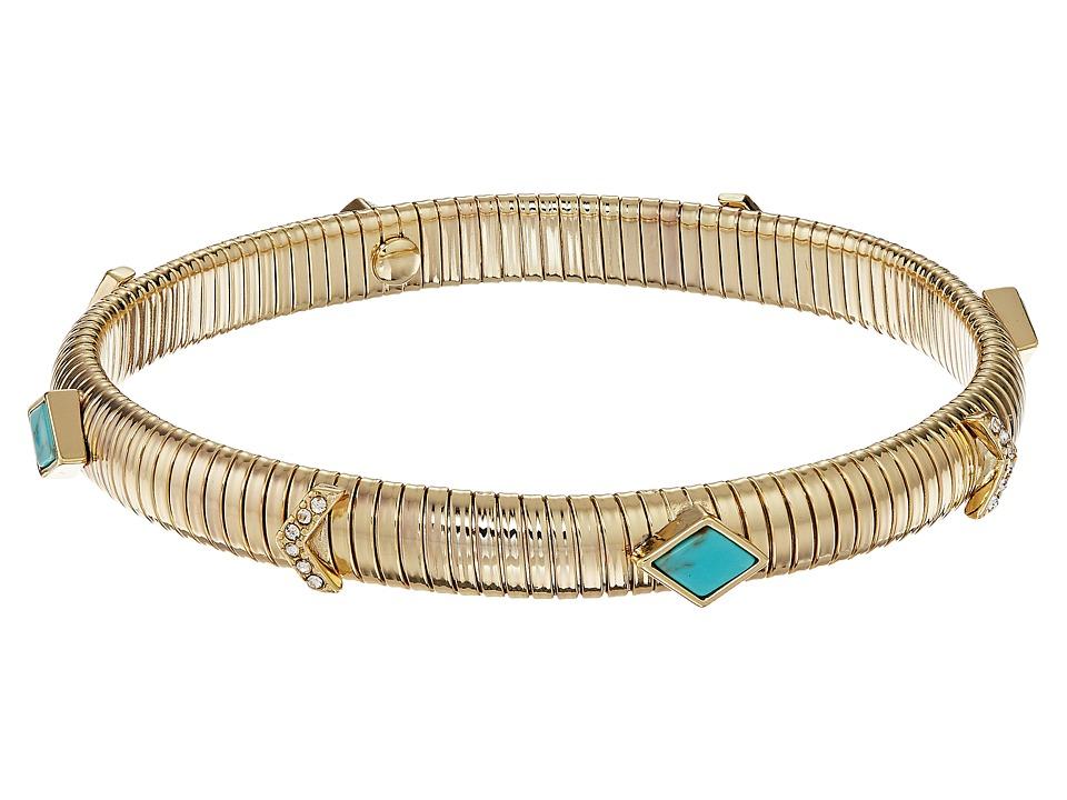 Vera Bradley - Stylist Bracelet (Gold Tone) Bracelet