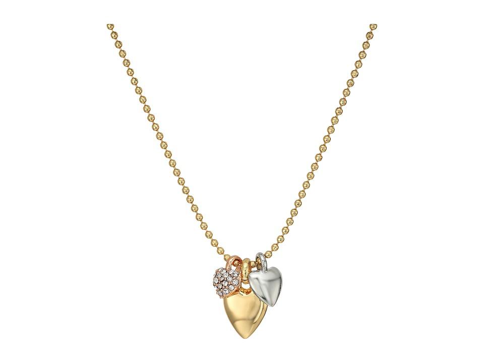 Vera Bradley - Stylist Heart Necklace (Gold Tone) Necklace