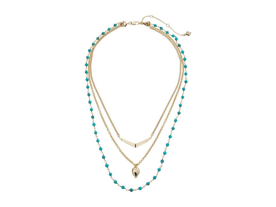 Vera Bradley - Stylist Necklace Set (Gold Tone) Necklace