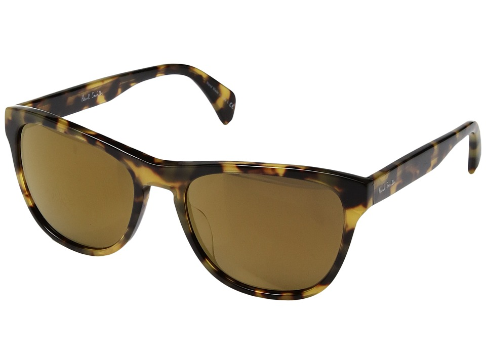 Paul Smith - Hoban (Spotty Tortoise/Gold Bronze Mirror) Fashion Sunglasses