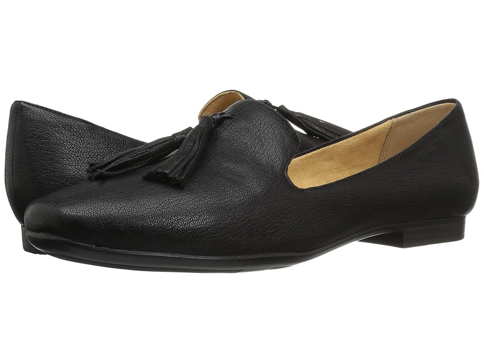 Naturalizer Elly (Black Tumbled Leather) Women