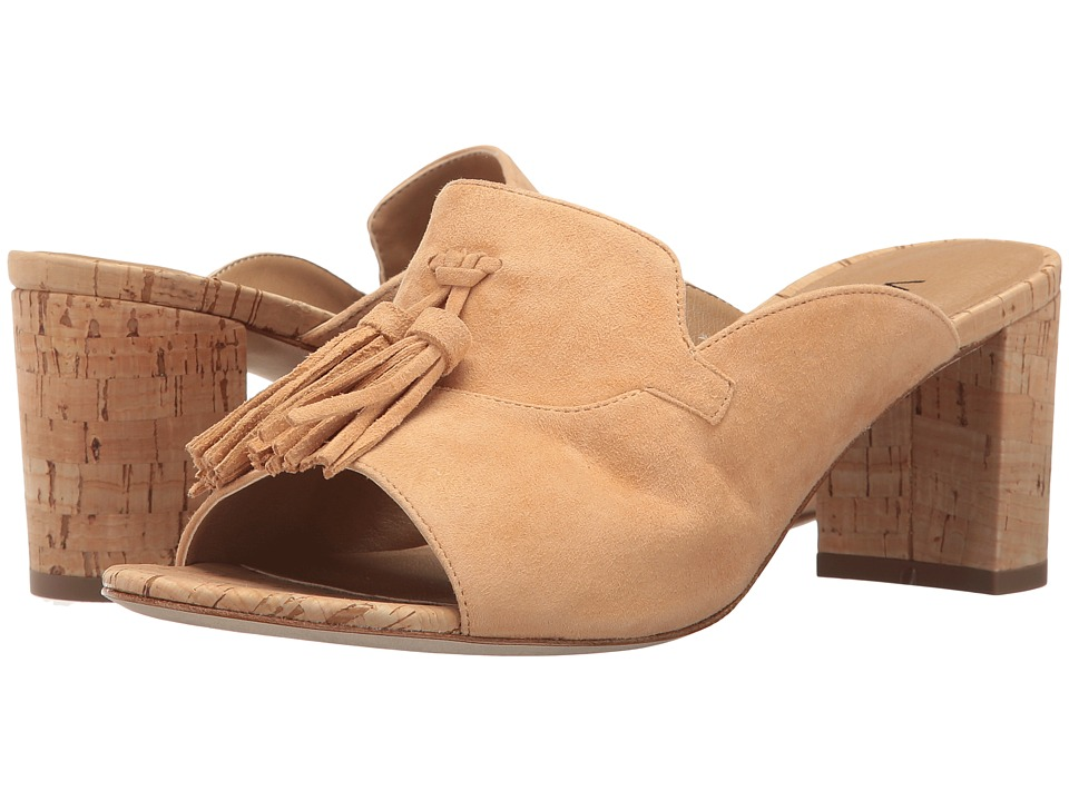 Vaneli - Marisa (Camel Suede/Natural Cork) High Heels