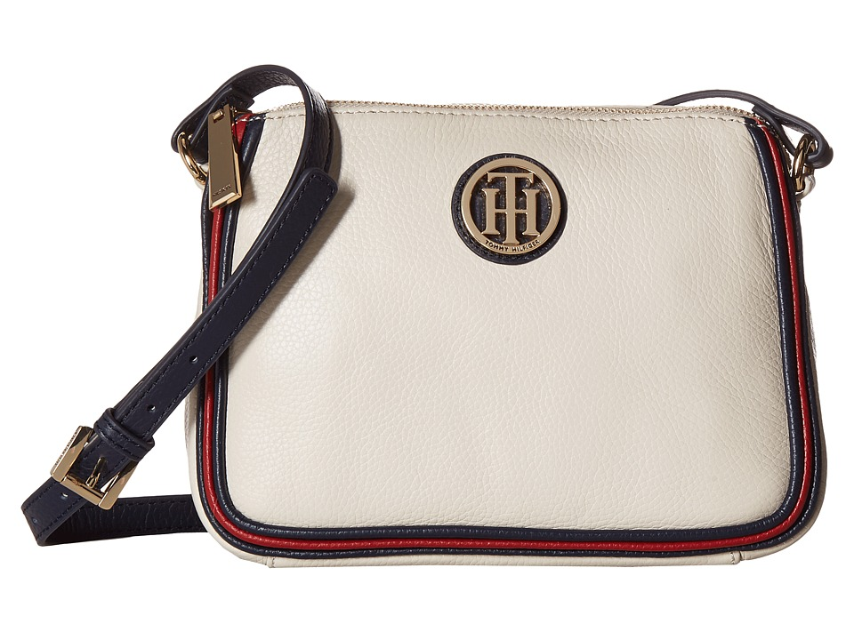 Tommy Hilfiger - Alice East/West Crossbody (Oatmeal) Cross Body Handbags