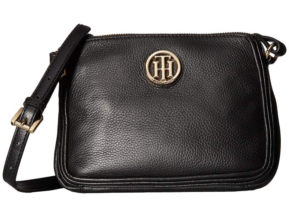 Tommy Hilfiger - Alice East/West Crossbody (Black) Cross Body Handbags