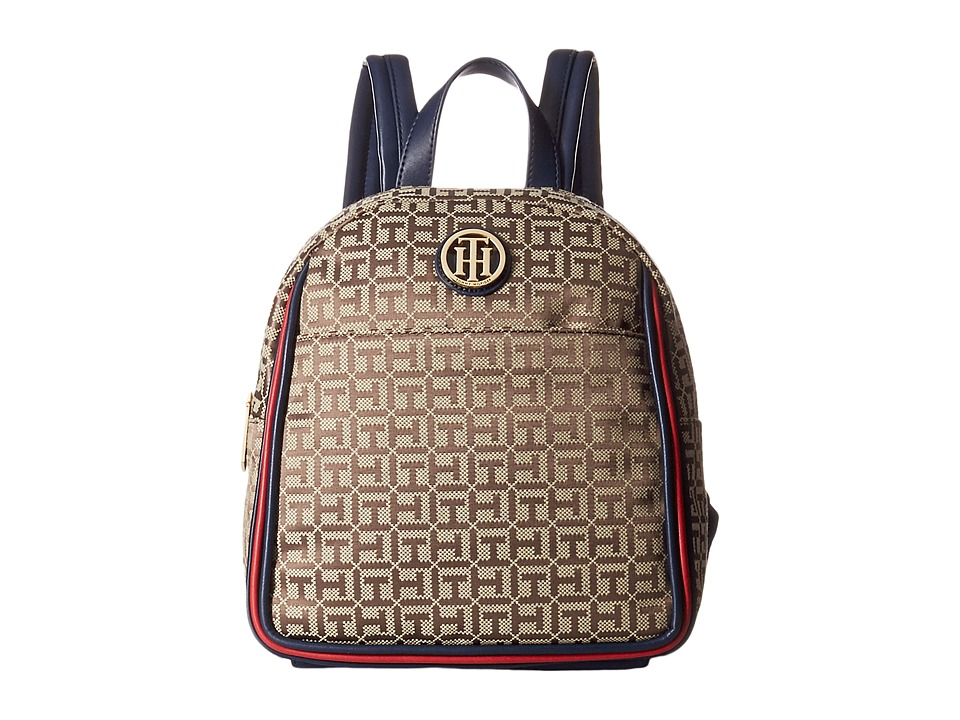 Tommy Hilfiger - Alice Backpack (Tan/Dark Chocolate) Backpack Bags