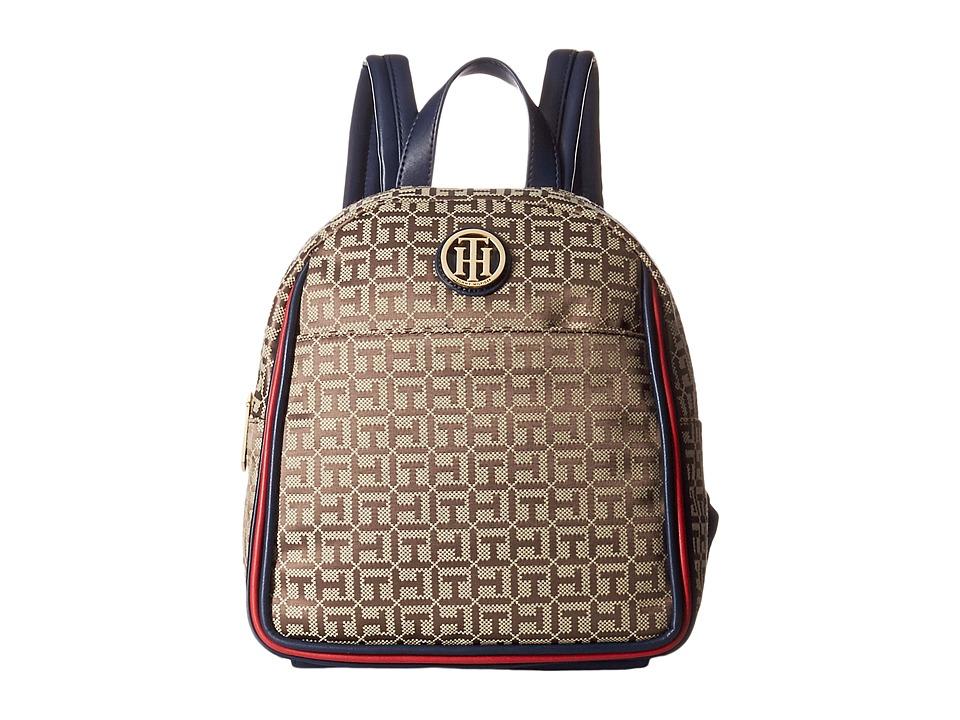 Tommy Hilfiger - Alice Backpack (Tan/Dark Chocolate) Backpack Bags