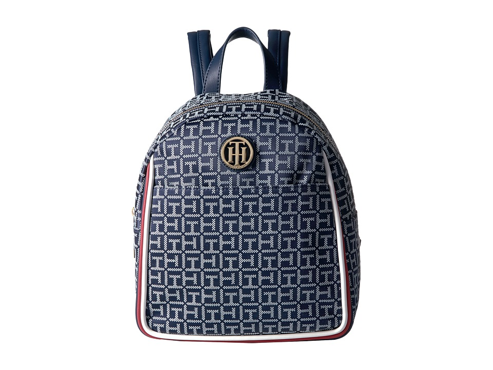 Tommy Hilfiger - Alice Backpack (Navy/White) Backpack Bags