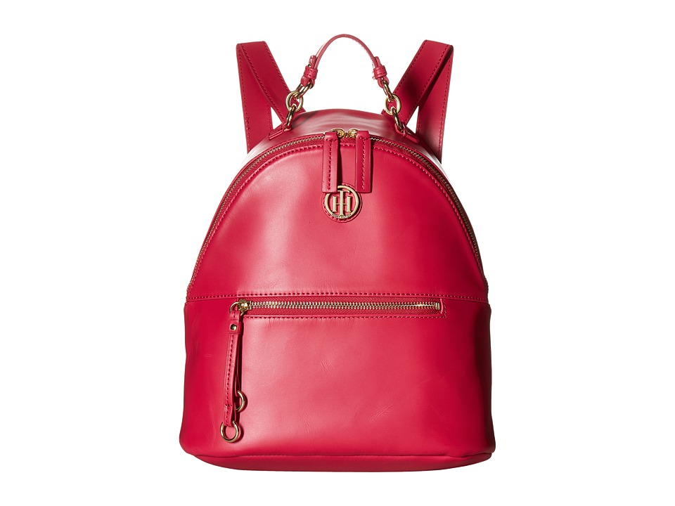 Tommy Hilfiger - Kiara Dome Backpack (Bright Rose) Backpack Bags