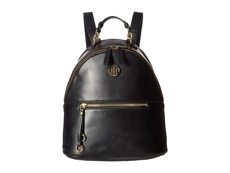 Tommy Hilfiger - Kiara Dome Backpack (Black) Backpack Bags