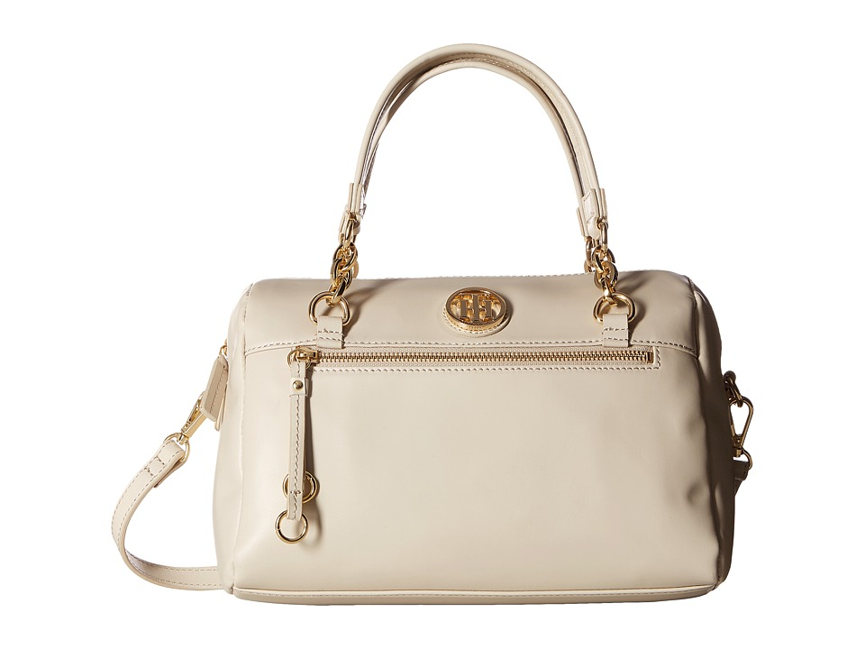 Tommy Hilfiger - Kiara Convertible Satchel (Oatmeal) Satchel Handbags