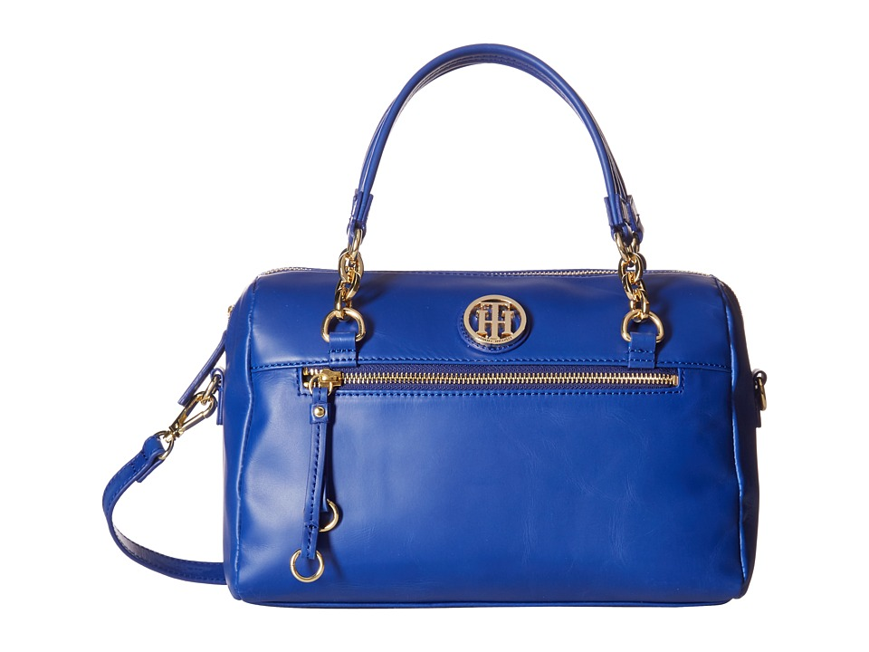 Tommy Hilfiger - Kiara Convertible Satchel (Cobalt) Satchel Handbags