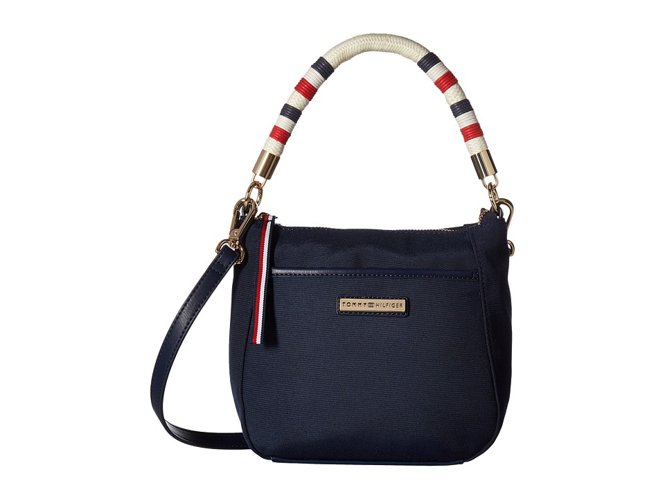 Tommy Hilfiger - Angelica Convertible Hobo (Tommy Navy) Hobo Handbags