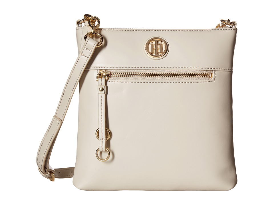 Tommy Hilfiger - Kiara North/South Crossbody (Oatmeal) Cross Body Handbags