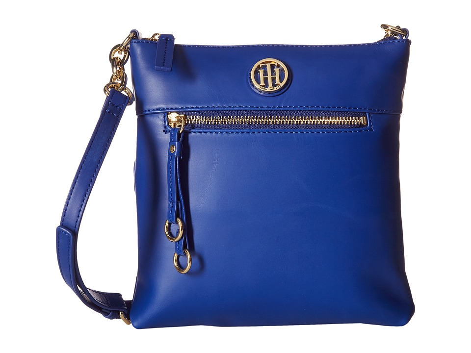 Tommy Hilfiger - Kiara North/South Crossbody (Cobalt) Cross Body Handbags