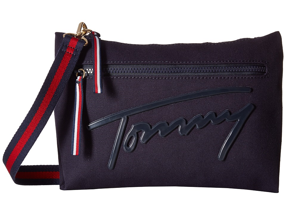 Tommy Hilfiger - Tommy Script Crossbody (Tommy Navy) Cross Body Handbags