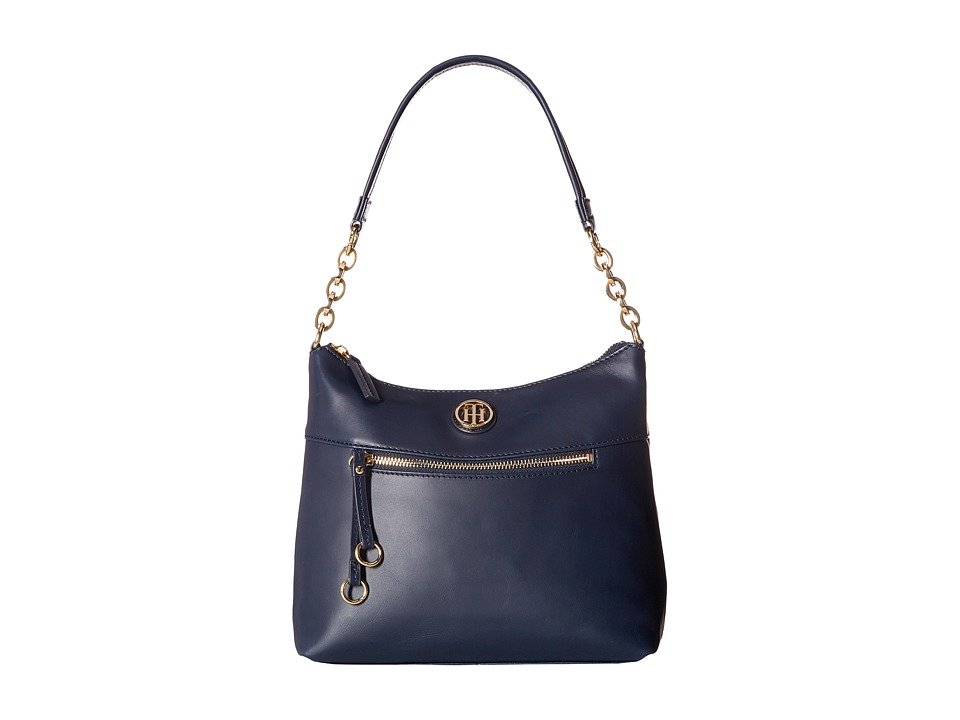 Tommy Hilfiger - Kiara Small Hobo (Tommy Navy) Hobo Handbags