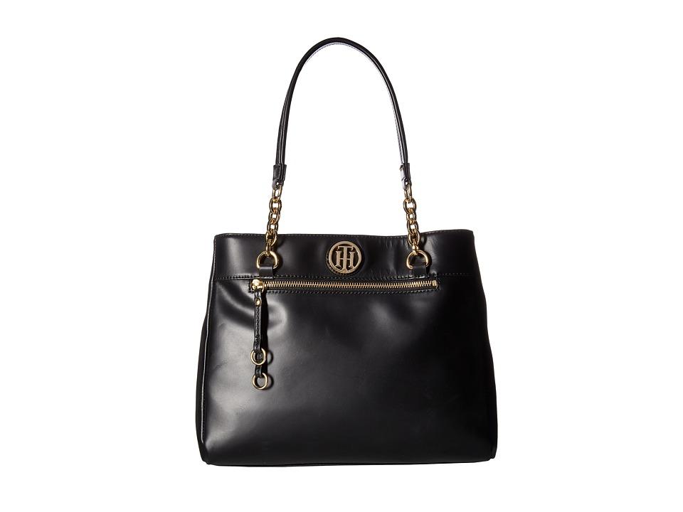 Tommy Hilfiger - Kiara Tote (Black) Tote Handbags