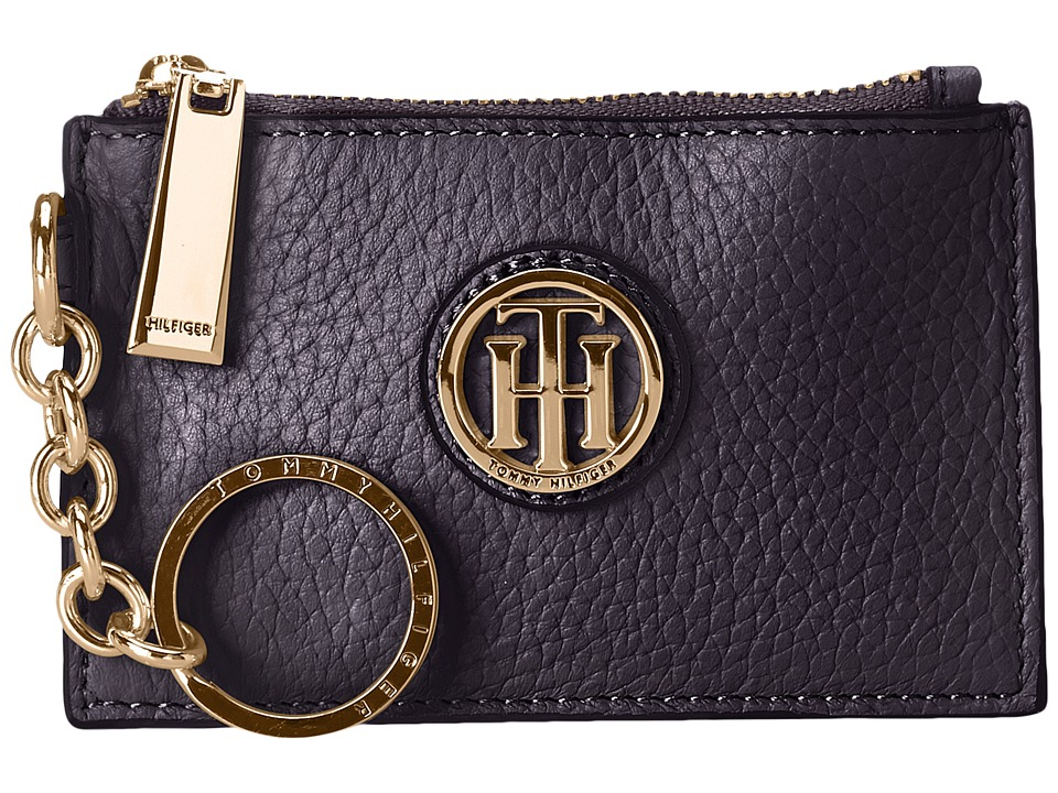 Tommy Hilfiger - Serif Signature Coin Purse w/ ID (Tommy Navy) Coin Purse