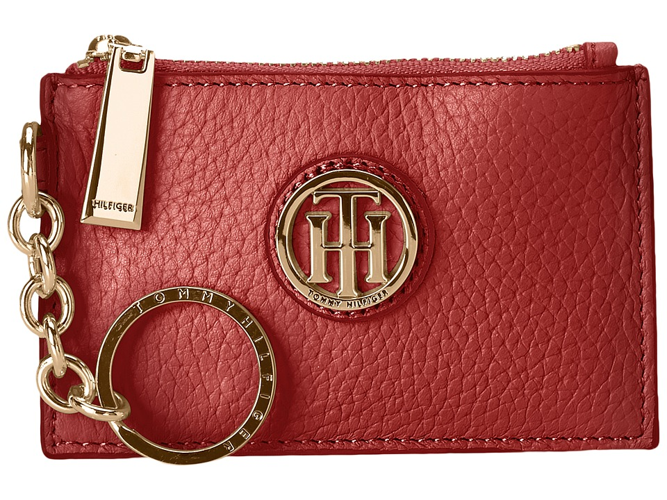 Tommy Hilfiger - Serif Signature Coin Purse w/ ID (Tommy Red) Coin Purse