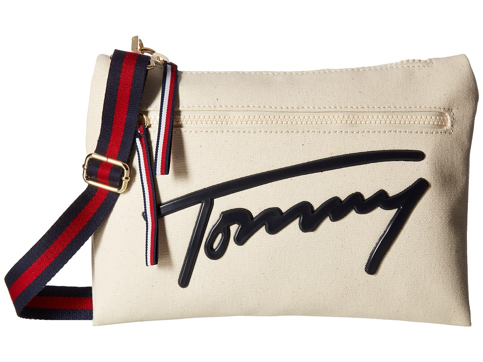 Tommy Hilfiger - Tommy Script Crossbody (Natural) Cross Body Handbags