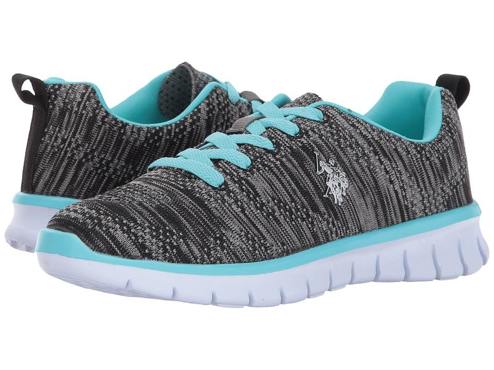 U.S. POLO ASSN. - Emery-K (Black/Blue) Women's Shoes