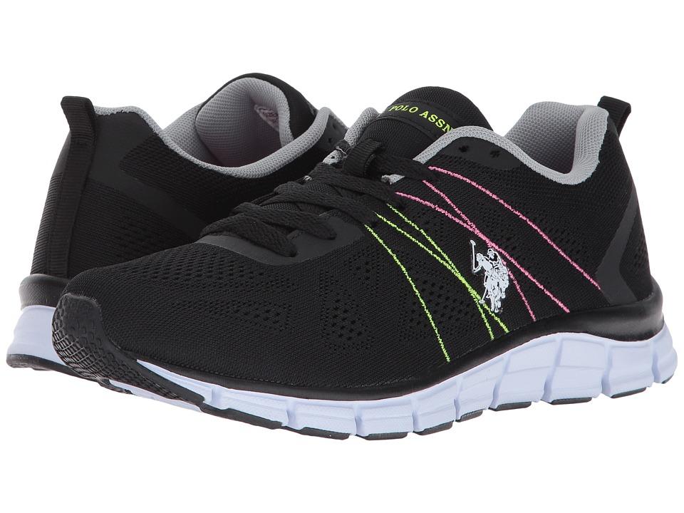 U.S. POLO ASSN. - Joan-E (Black/Multi) Women's Shoes