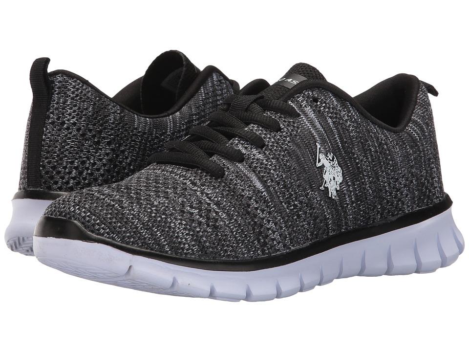 U.S. POLO ASSN. - Iris-K (Black/Grey) Women's Shoes