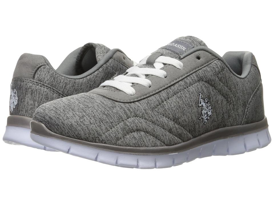 U.S. POLO ASSN. - Isabel-HJ (Grey) Women's Shoes