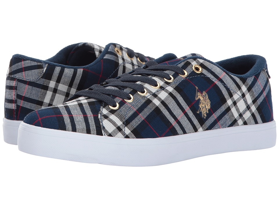 U.S. POLO ASSN. - Cherish-P (Navy/White/Red) Women's Shoes