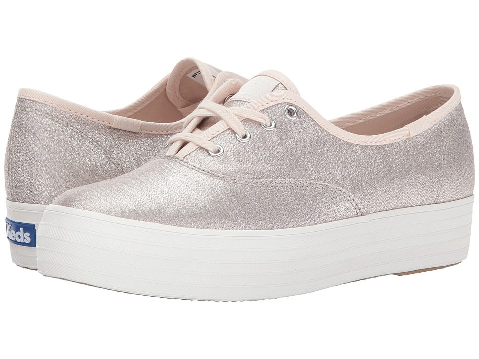 Keds - Triple Lurex (Champagne) Women's Shoes