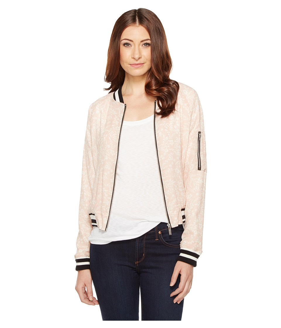 Sanctuary - Sprout Bomber (Cameo Pink Sprout) Women's Coat